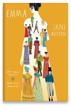 Emma by Jane Austen | Type & illustrations by Dadu Shin; Art Direction by Brianna Harden