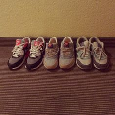 Nike airmax . First : nike airmax 90's. Second: nike airmax one (liberty). Thirth: nike airmax one basic