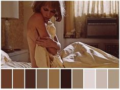 Movie Color Palette, Color Schemes Colour Palettes, Colour Pallete, Color Combos, Rosemaries Baby, Cinema Colours, Baby Movie, Cinematic Photography, Mood And Tone