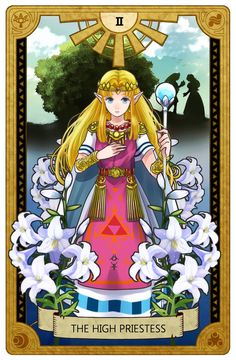 Legend of Zelda tarot