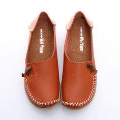 702e699a3f1a0f BN Womens Padded Leather Comfy Casual Walking Bowed Flat Shoes Loafers  Moccasin