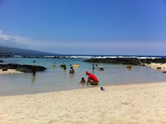 Keiki Beach--you can read more about things to do with kids in Kona at www.365Kona.com