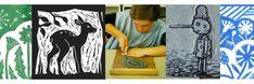 Hoe werkt #Linosnijden / Linoleum snijden?