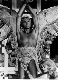 An angel does not make love...an angel is love. Pygar and Barbarella