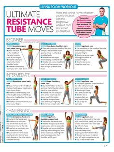These, I'll probably be working up to lol (at least some of them)  3 level resistance band workout