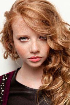 Anna Marie van Vliet #redhair #ginger #freckles