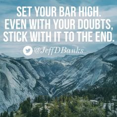 Did you set the bar too high?  I did. But the race is not over. Keep it up!
