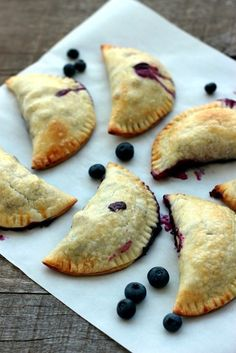 Easy Blueberry Hand Pies - a sweet treat to take on-the-go!