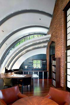 extension moderne de maison et bureau