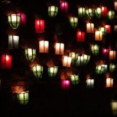 """""""Iluminaciones"""" tradición mexicana de Purísima del Rincón Guanajuato."""
