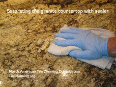 sealing granite countertops