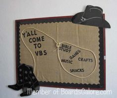 Bulletin board idea ~ tailor it to fit for various activities