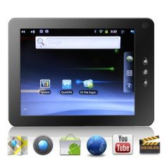 # List Price: £264.98  Price:        * £        US$ € CA$ AU$ HK$ CHF ¥    111.15  # Start from: 1 Unit(s)  Now here is a great multimedia Android 2.3 Tablet that's built with a 1.2GHz CPU for flawless performance. The Mica Android Tab is all you need. This Android Tablet comes with a 1.2GHz CPU Processor an 8 inch (2 point) touch screen control with HD resolution at 1080P (1920x1080), support for Adobe Flash 10.3, and the amazing Android 2.3 operating system (Gingerbread).