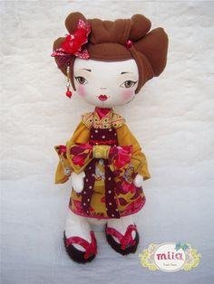 boneca japonesa.