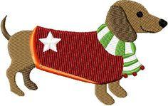 {Dogs- Sweater Christmas Dog.jpg 500 JuliasNeedleDesigns K.H.}