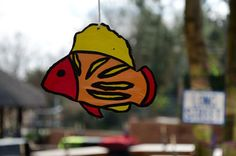 The Debauchery Farewell: We also painted different colored fishes and hang them everywhere from the trees and lapa.