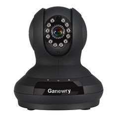 Ganewry Wi-Fi Surveillance Security IP Video 720P HD Monitoring Camera - Motion Detection