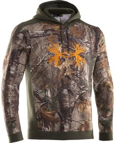 Under Armour Men's Charged Cotton Camo Antler Hoody  http://www.countryoutfitter.com/products/47879-mens-charged-cotton-camo-antler-hoody