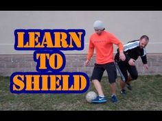 How to Shield a Soccer Ball - Online Soccer Academy - YouTube