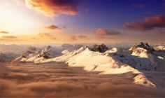Stunning Mountain Scenery of Swiss Alps photo