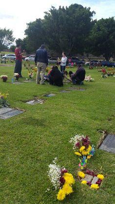 #Tradicion Arreglos Tumbas - Cementerio las Flores