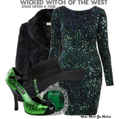 Inspired by Rebecca Mader as The Wicked Witch of the West on Once Upon a Time.