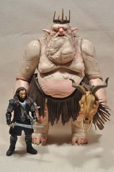 The Hobbit Goblin King and Thorin Oakenshield Figure Review