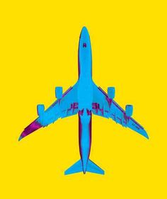 Thomas Eigel, plane_06_15_24c, 2015 / 2016 © www.lumas.de/ #Lumasblau,  Digital,  Digital Art,  farbenreich,  Flügel,  Flughafen,  Flugzeug,  Flugzeug,  Flugzeuge,  Flugzeuge,  Fotografie,  gelb,  Grafiken,  Himmel,  Konzept,  Technik