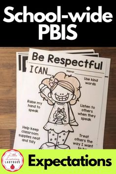 Be safe, be respectful, be responsible! Start back to school with clear and consistent rules and expectations set up for your classroom. This editable resources allows you to customize all materials to match the PBIS rules of your school. Encourage positive behavior in your classroom by setting clear expectations. Editable posters, student pages, real life images, and student book are included. #classroommanagement #pbis #backtoschool Positive Behavior Management, Classroom Behavior Management, Behavior Plans, Behavior Charts, School Rules Activities, School Science Projects, Teacher Tools, Teacher Binder, Classroom Expectations