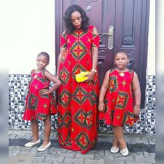 ANKARA STYLES: HOW TO MATCH WITH MUMMY