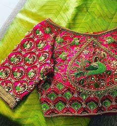 Bridal Blouse Stitching in Chennai, PattuPavadai Stitching In Chennai, Lehenga Stitching in Chennai, Wedding Blouse stitching in Chennai, Ladies Tailoring. Wedding Saree Blouse Designs, Half Saree Designs, Pattu Saree Blouse Designs, Stylish Blouse Design, Fancy Blouse Designs, Maggam Work Designs, Designer Blouse Patterns, Amazing, Blouses