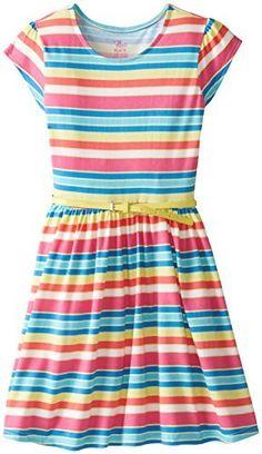 The Children's Place Big Girls' Short Sleeve Stripe Dress, http://www.amazon.com/dp/B00TIC0IQW/ref=cm_sw_r_pi_awdm_lWftvb00FJRXW