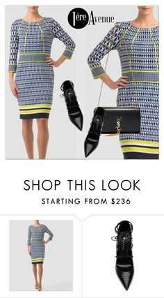 """1ere Avenue"" by deeyanago ❤ liked on Polyvore featuring Joseph Ribkoff, Yves Saint Laurent, classy and JosephRibkoff"