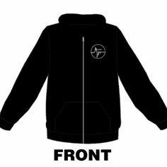 The grind has no curfew zip up hoodie