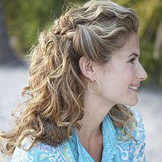 #Hair how-to: Casual, loose braids