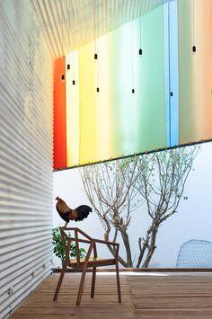 Detalle. Capilla en Vietnam, diseñada por a21studio. Imagen cortesía de a21studio.