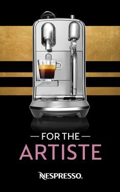 The Nespresso Creatista has the tools you need to become the home barista you always knew you were. -Integrated Breville milk frother -Selected as one of Oprah's Favorite Things -Three second heat up time -Eight coffee drink options including Espresso, Cappuccino, Flat White, and more