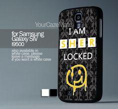 I AM SHERLOCKED For Samsung Galaxy S4 Hard Plastik Black Case | YourCazeMate - Accessories on ArtFire