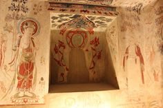 The Mogao Caves or Mogao Grottoes , also known as the Caves Ancient Ruins, Ancient Art, Fresco, Chinese Wall, Dunhuang, The Han Dynasty, Spiritual Images, Into The West, Buddhist Art