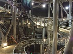 Space Mountain with all the lights on.