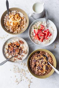 Oats Recipes, Gourmet Recipes, Real Food Recipes, Yummy Food, Microwave Recipes, Dinner Recipes, Cereal Recipes, Beef Recipes, Chicken Recipes