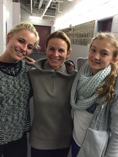 """Stars on Ice via Twitter - 28 Dec 2014 - """"Katia Gordeeva is joined by her two beautiful daughters, Daria & Lizaveta, at Lake Placid rehearsals. #soifamily"""""""