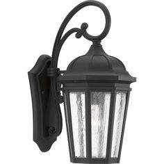 Progress Lighting Verdae Collection 1 -Light Outdoor Black Sconce
