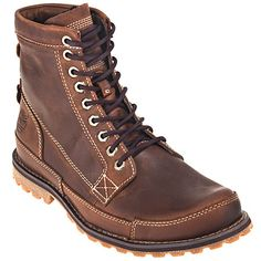 Timberland Casuals: Men's Earthkeepers Rugged 15551 Red Brown Work Boots,    #Boots,    #TB015551210,    #Timberland