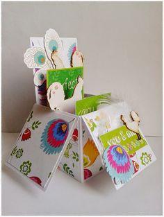 Papier i nożyczki - to świetna zabawa: Folkowa wiosna Gift Wrapping, Christmas Ornaments, Holiday Decor, Gifts, Home Decor, Gift Wrapping Paper, Presents, Decoration Home, Room Decor