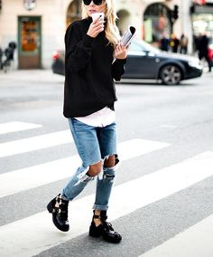 SHOP THE LOOK: Jeffrey Campbell ankle boots  right on trend