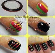 Nail art? :)