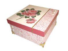 Caixa Presente com Papel Textura - Marisa Magalhães