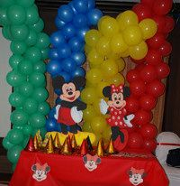 Mickey Mouse Clubhouse Theme Decoration Ideas & 23 best Mickey Mouse Birthday Party Ideas images on Pinterest ...