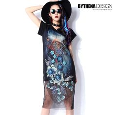 Find More Information about showtime 2015women 3d animal printed top tee shirt  flower embroidery organza patchwork sequins loose short sleeve shirt dress,High Quality dress work shirts,China shirt sleeveless Suppliers, Cheap dress suspenders from Sexy Bar on Aliexpress.com